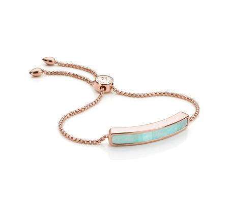 monica vinader rose gold bracelet