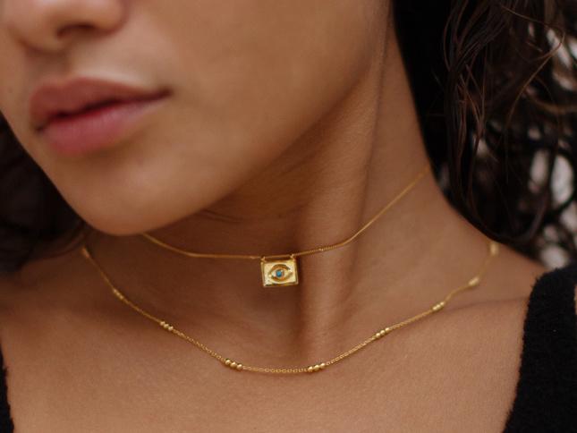 New Deia Evil Eye Necklace launch