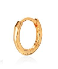 Monica Vinader Gold Ziggy Huggie Earring