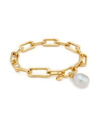 MV Alta Capture Charm Bracelet with a Baroque Pearl Pendant Charm