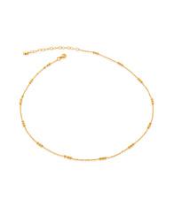 MV Triple Beaded Chain Necklace