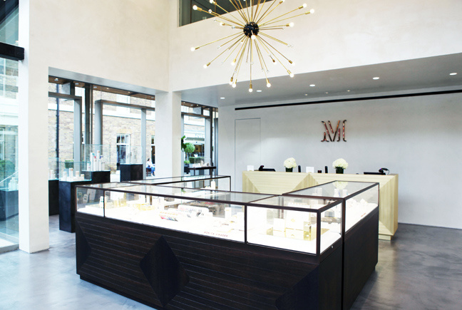 Monica Vinader In-store Jewellery Display