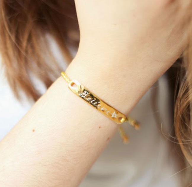 Engraved Friendship Bracelet By Amberrosephoto