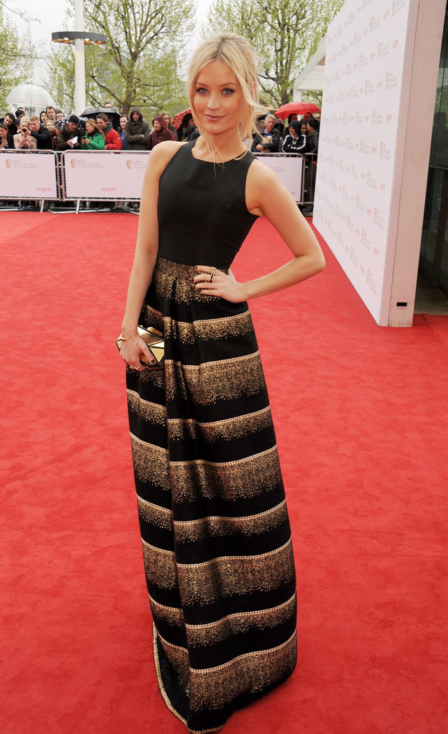 Laura Whitmore at BAFTA