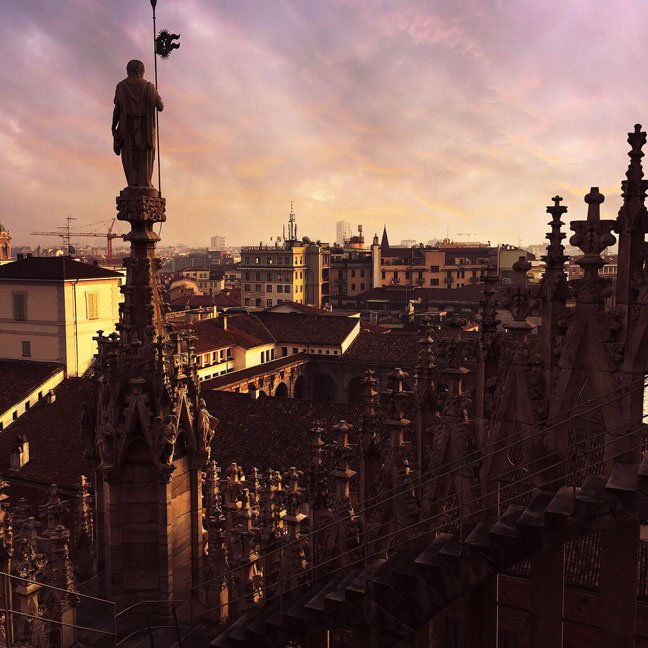 Milan by @veronicaferraro