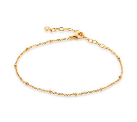 Fine Beaded Chain Bracelet