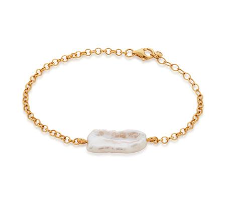 Nura Biwa Pearl Bracelet