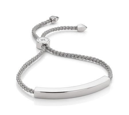 Sterling Silver Linear Large Friendship Bracelet Monica Vinader jYwuoprnt4