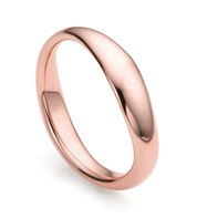 Rose Gold Vermeil Nura Reef Stacking Ring - Monica Vinader