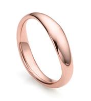 Rose Gold Vermeil Nura Reef Stacking Ring - Monica Vinader