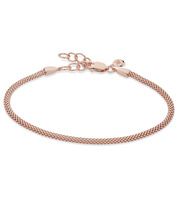 Rose Gold Vermeil Doina Fine Chain Bracelet - Monica Vinader