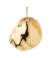 Gold Vermeil Nura Small Shell Pendant Charm - Monica Vinader