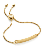 Gold Vermeil Havana Mini Friendship Chain Bracelet - Monica Vinader