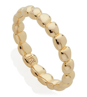 Gold Vermeil Nura Teardrop Eternity Ring - Monica Vinader