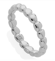 Sterling Silver Nura Teardrop Eternity Ring - Monica Vinader