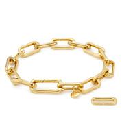Gold Vermeil Alta Capture Charm Bracelet - Monica Vinader