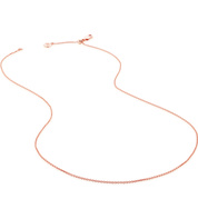 Rose Gold Vermeil Fine Chain 17
