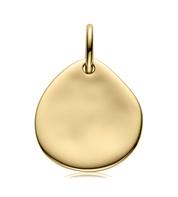 Gold Vermeil Siren Small Pendant Charm - Monica Vinader