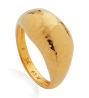Gold Vermeil Deia Domed Ring - Monica Vinader