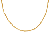 "Gold Vermeil Vintage Chain Necklace 20-22"" - Monica Vinader"