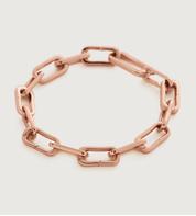 Rose Gold Vermeil Alta Capture Charm Bracelet - Rose Gold Vermeil Alta Capture Charm Bracelet - Monica Vinader