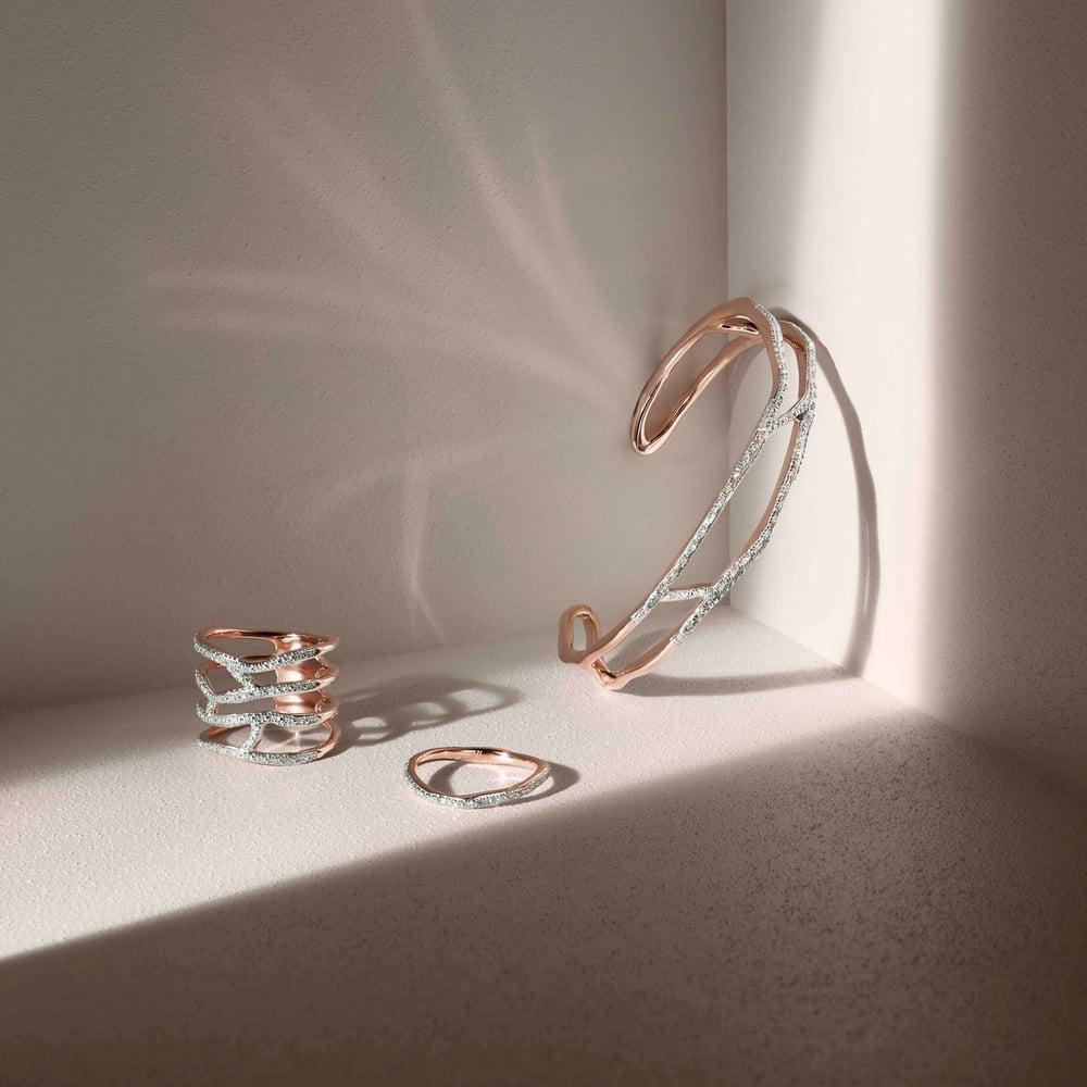Rose Gold Vermeil Ring and Bracelet