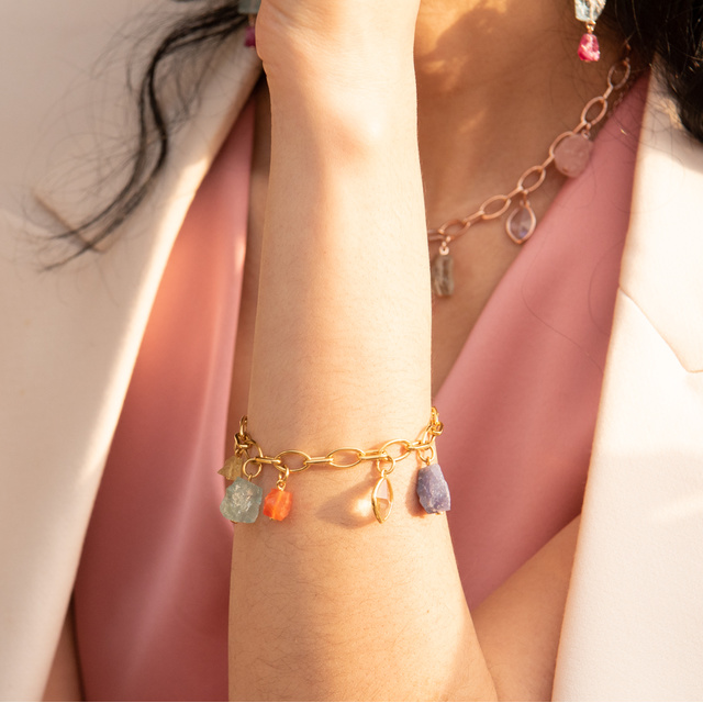 Pink jewellery