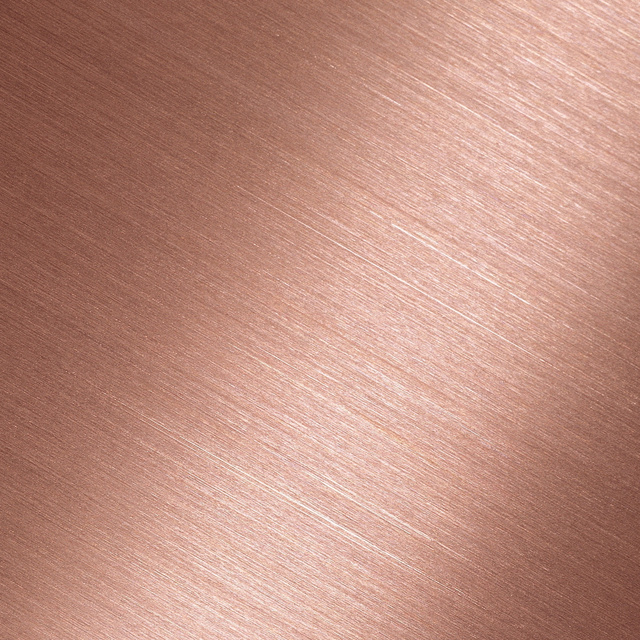 Rose Gold colour for harmony