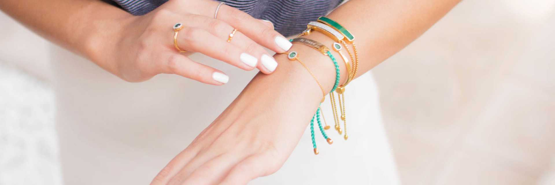 Inspirational jewellery styling ideas