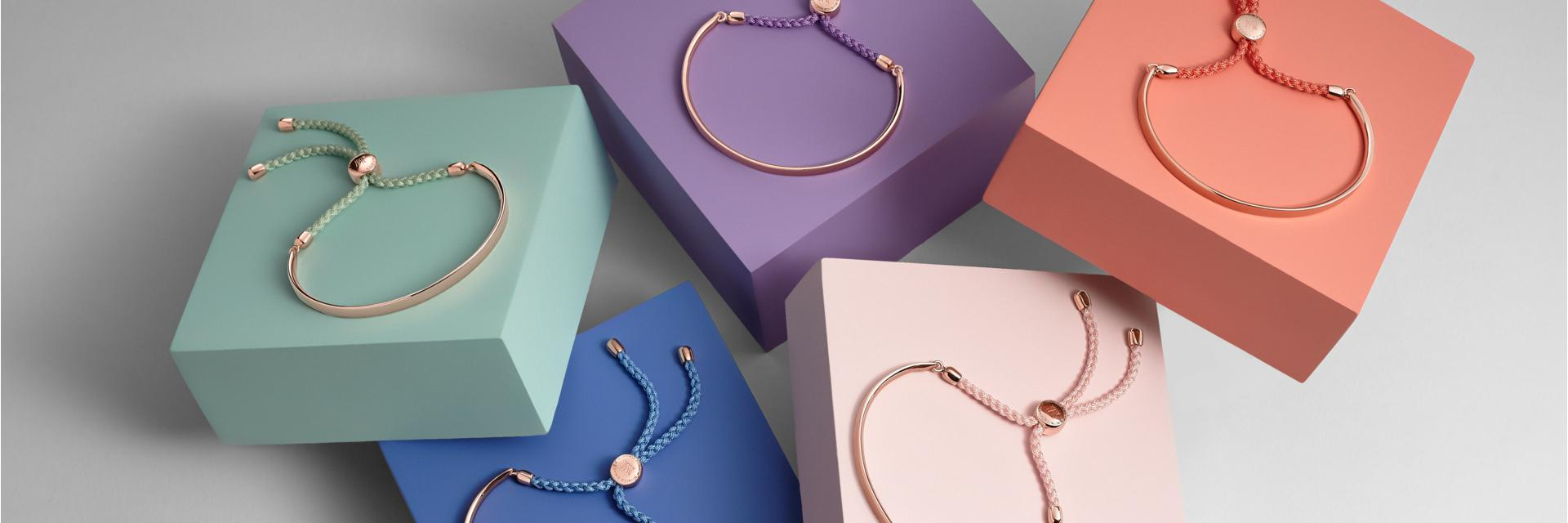2b0d1f99eb3937 Our iconic friendship bracelet has been refreshed with vibrant sorbet  colour cords, each with its own meaning. The best-selling collection  introduces Ballet ...