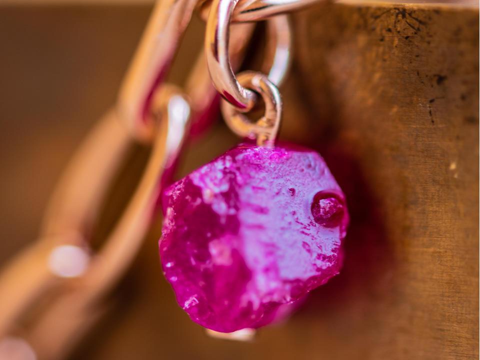 Pink Quartz jewellery