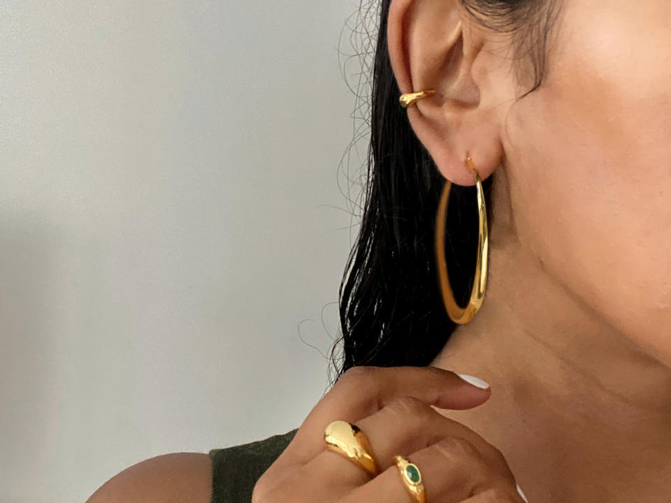 style your ear with beautiful cuff earrings