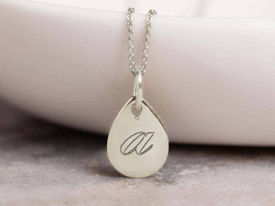 which necklace types to get engraved