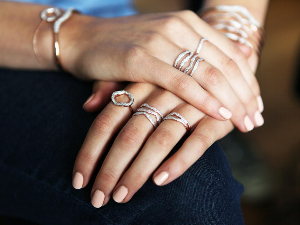 diamonds make the perfect luxury ring type