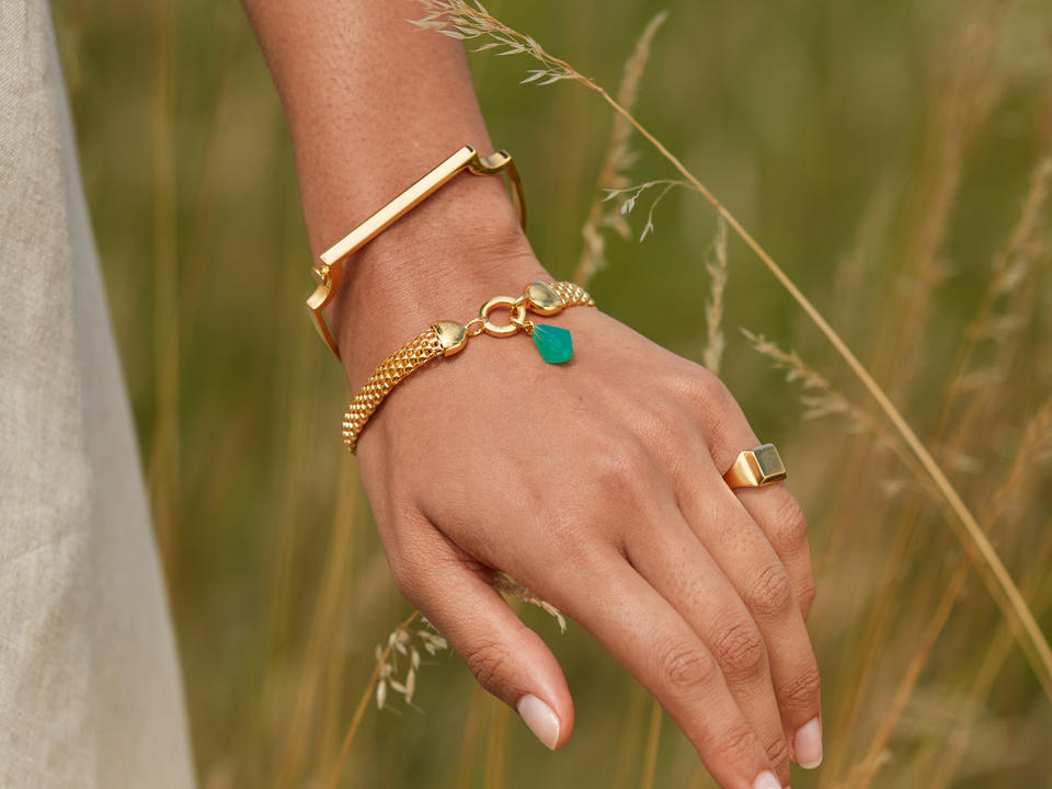 cleaning gold bracelets, rings, and necklaces is simple