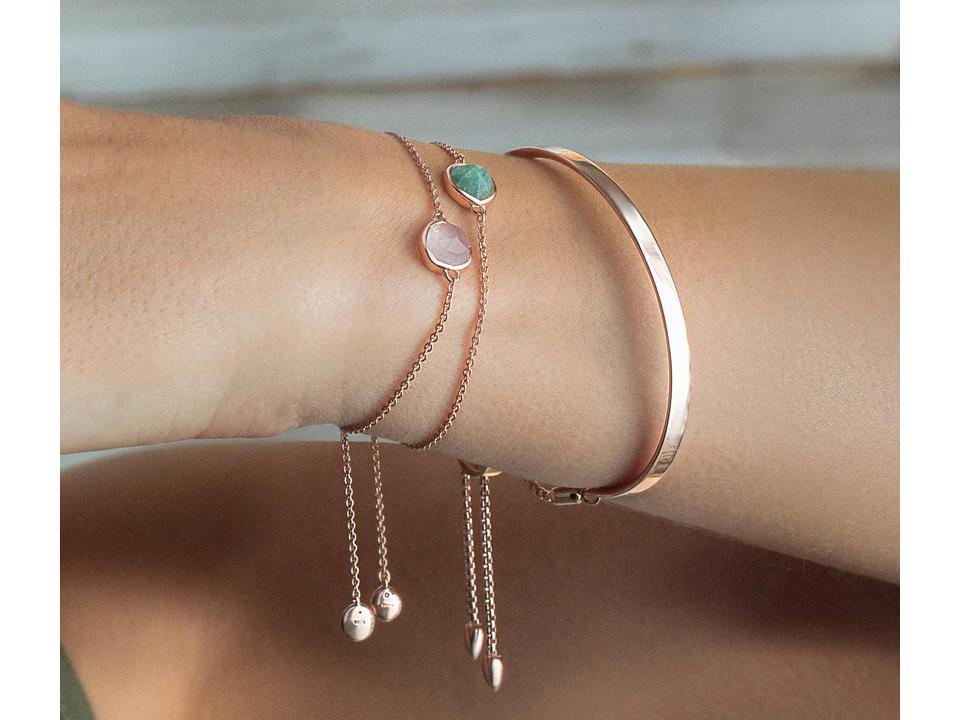 rose quartz is a delicate semi-precious gemstone