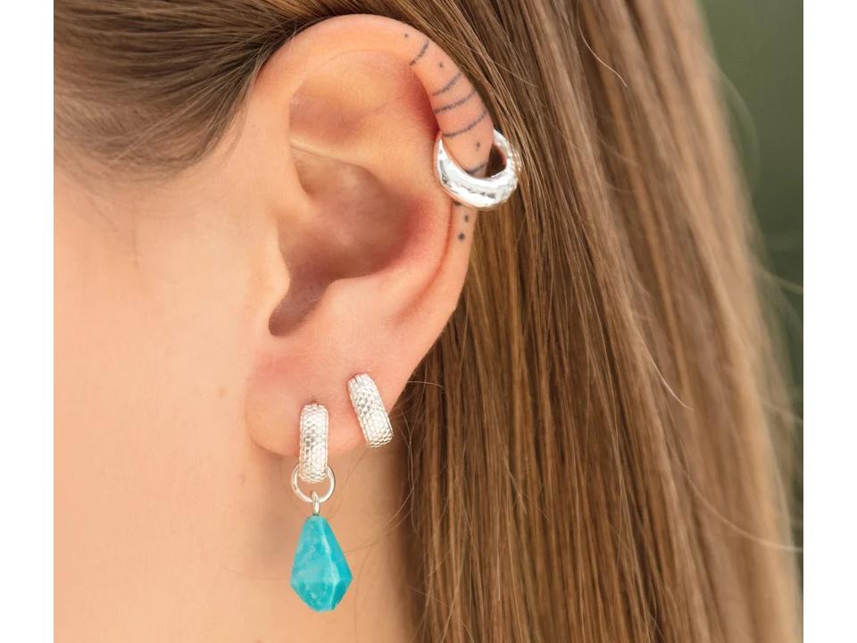 turquoise is a bold semi-precious gemstone