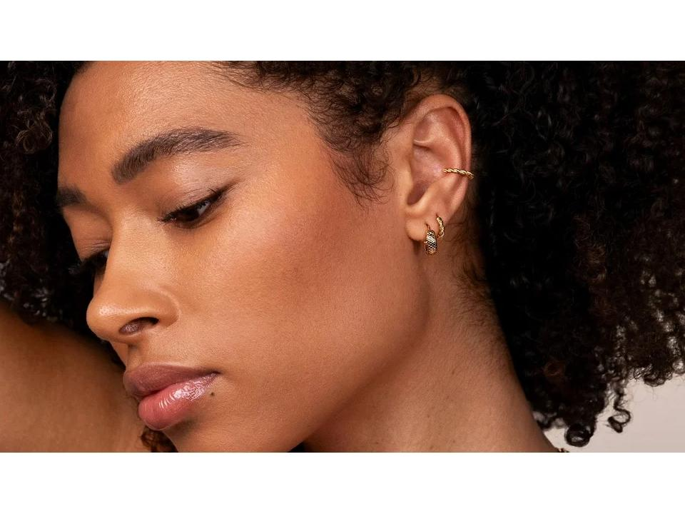 ear piercings can create beautiful stacked styles