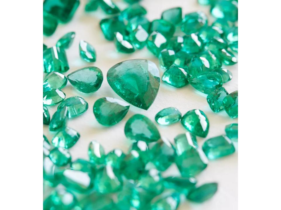 some of our sustainable rings feature ethical gemstones