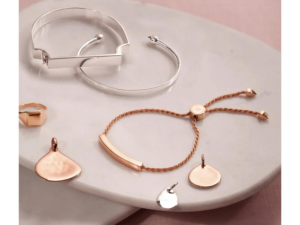 choose your next meaningful bracelet in a gold, silver or rose gold finish