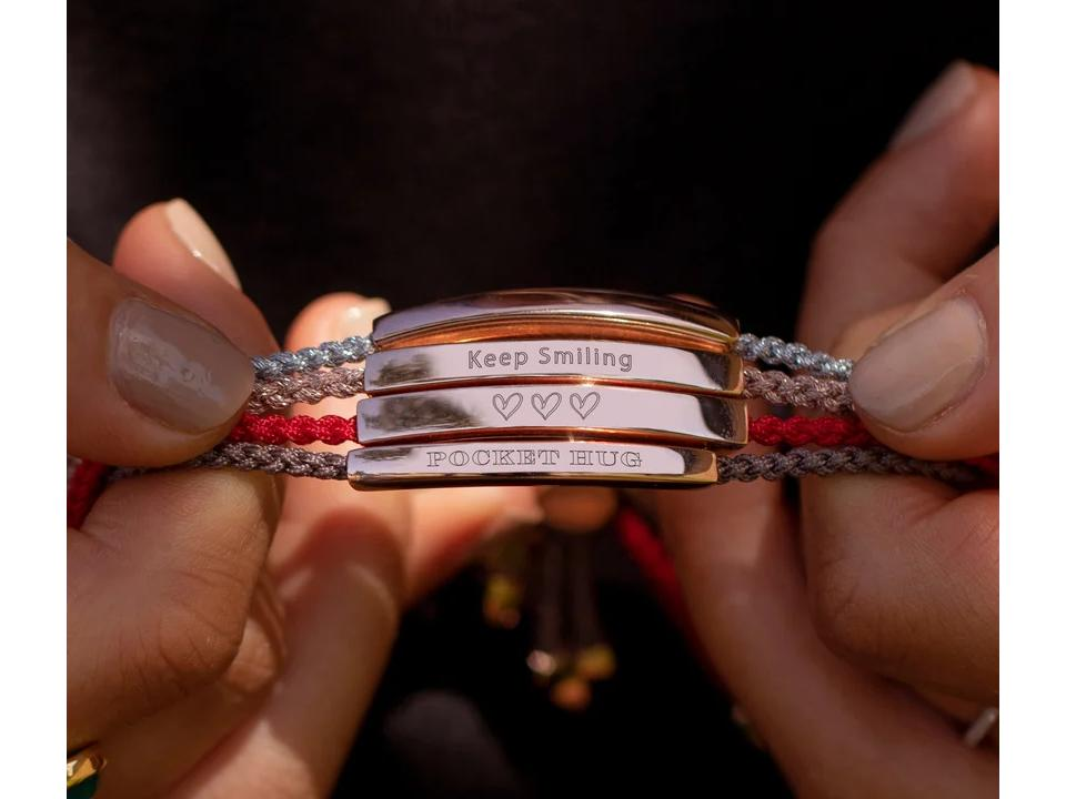 you can engrave your meaningful bracelet to make it unique to the wearer