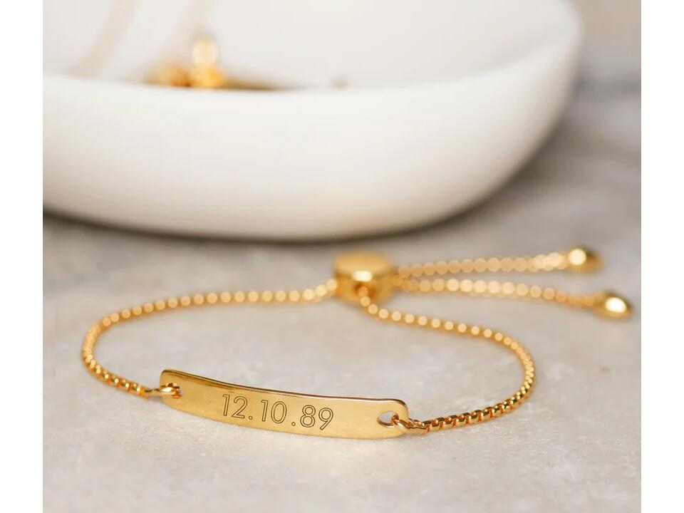engrave a bracelet to provide inspiration to a significant other