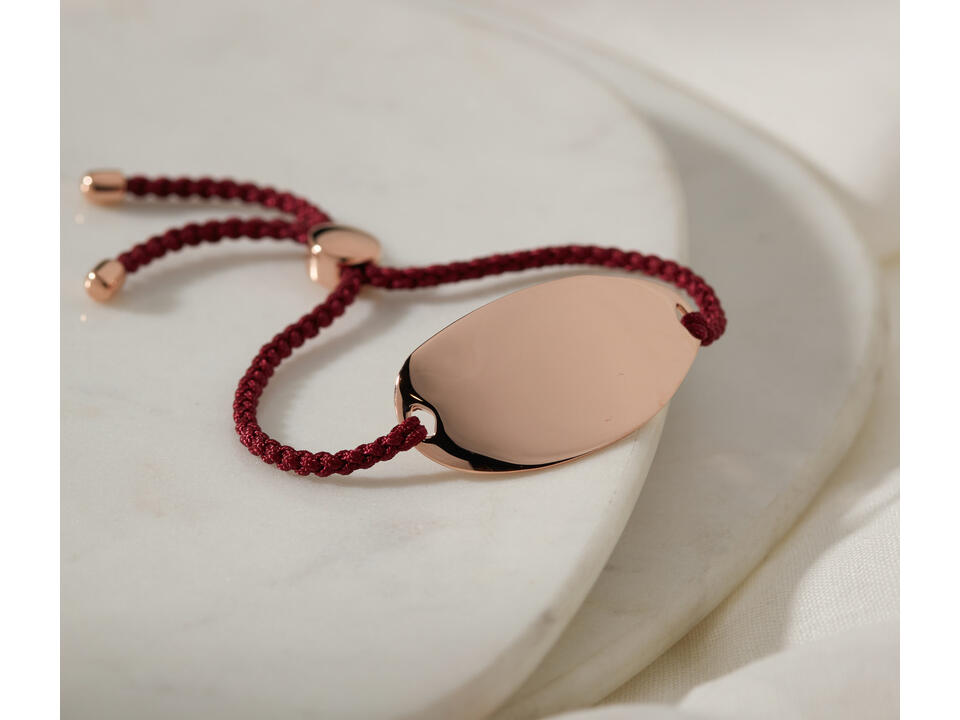 you can enjoy the meaning behind a red bracelet when worn on your left wrist