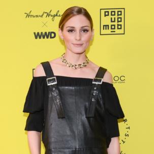 Olivia Palermo wearing Diva cuff bracelet