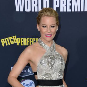 Elizabeth Banks wears Baja diamond ring