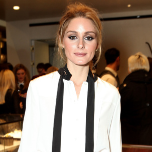 Olivia Palermo wears Monica Vinader Baja Precious, Baja Diamond and Esencia Diamond collections to the launch of the new MV Flagship store in Chelsea's Duke of York.
