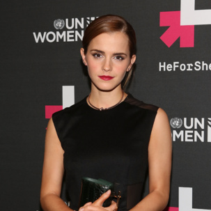 Emma Watson wears Monica Vinader Skinny and Baja collections to the UN Women's