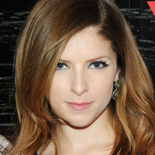 Anna Kendrick wears Monica Vinader Siren Small Cocktail Earrings in Labradorite to the Guess Nashville Collection Celebration at New York Fashion Week.