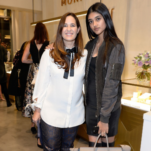 Neelam Gill wears Diva stacking rings to the Monica Vinader x Women for Women #Sheinspiresme event