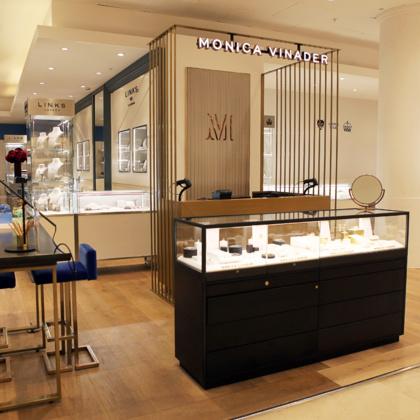 Monica vinader selfridges london oxford street luxury - Selfridges head office telephone number ...